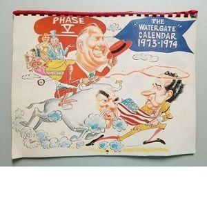 The 1974 Watergate Calendar Nixon Agnew Cartoons